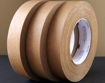 "Kraft Paper Tape (1 Roll) . 1"" wide x 60 yards (180 feet)"
