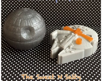 Star Wars Inspired Millennium Falcon & Death Star Soap Gift Set