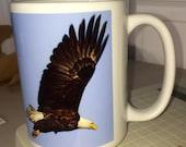 Eagle Large Coffee Mug 15 oz