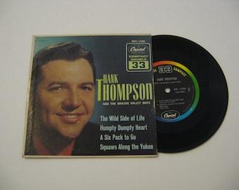 Hank Thompson - The Wild Side Of Life - 33RPM - Cirac 1961