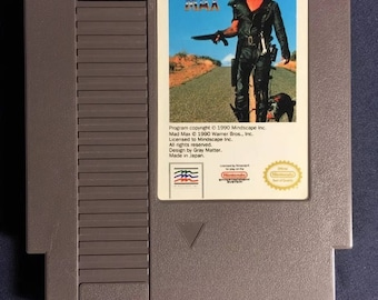 Mad Max Nintendo NES Video Game NA Version Cartridge Only From 1990