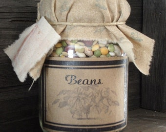 Pantry Jar       Beans