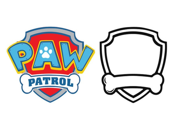 Paw Patrol Svg Paw Patrol Dxf Cartoon Svg Paw Patrol Logo
