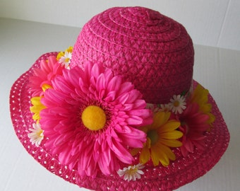 Girl's Pink Hat