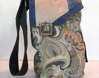 Tapestry Bag, Tapestry Purse, Tapestry Tote Bag, Crossbody Bag, Floral Tote Bag, Purse and Bags, Handbags, Womens Tote, Eco Friendly Bag