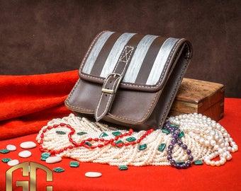 The Witcher Bag Triss Merigold geralt cosplay leather bag