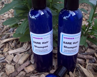 ALL Natural Handcrafted Shampoo 8oz, NO Synthetic/Artificial Ingredients, Works Awesome