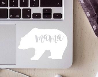 mama bear decal, papa bear decal, bear decal, mama bear, papa bear
