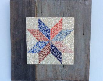 Mosaic Star Wall Hanging