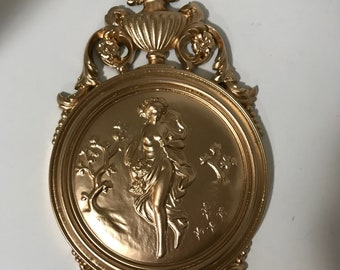 Vintage Wall Hanging Gold