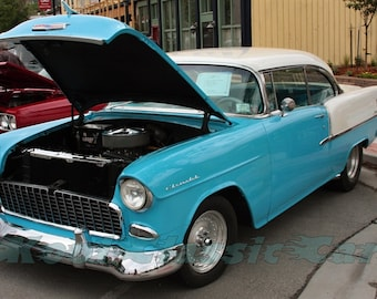 Classic 1955 Chevy Bel Air Two Tone