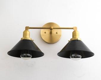 3 Fixture Pipe Fitting Mason Jar Bathroom Vanity Bar Or Wall