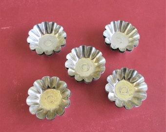 Mini Pie Tins 4 Pie Pans Foil Apple Crips Pans Small