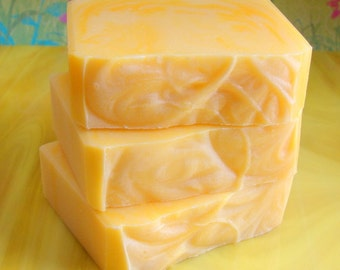 Lemon Dottie. Sugar Lemon Handcrafted Artisan Soap
