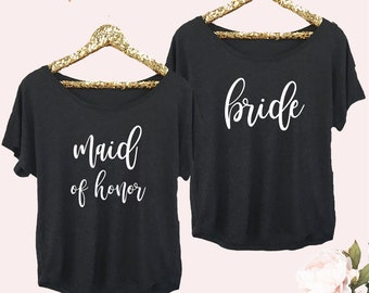 Bride Shirt Bride to Be Shirt Bridal Shower Gift for Bride Gift from Maid of Honor Bride Gift Ideas