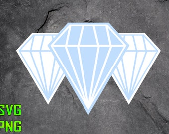 DIAMONDS SVG for cutting machines Svg digital files Instant download cutting machine Laser engraving files Silhouette files Cameo files