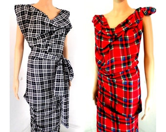 New Boutique! Opening offer BURBO Classic 'Sy-Anne' Made to order Tartan dress Many colours available -see pictures*