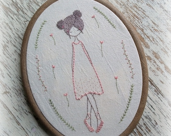 ballet dancers hand embroidery pattern pdf