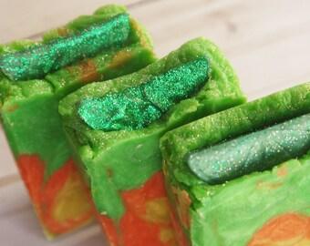Lime Margarita Soap - Orange Patchouli Fragrance