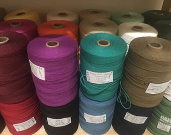 """8/4 Cotton """"Carpet Warp"""" Maurice Brassard for Weaving"""