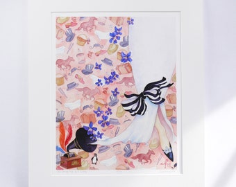 MY FAIR LADY limited edition faerie tale feet signed numbered titled artist print illustration broadway musical eliza doolittle