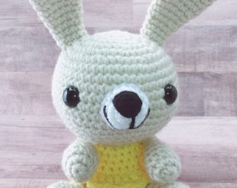Crochet Bunny Rabbit Amigurumi Knitted bunny toy Stuffed bunny Baby shower gift Easter bunny Soft bunny Plush bunny