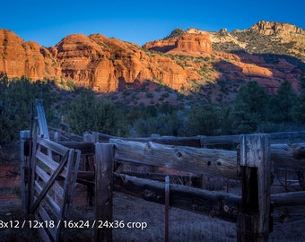 Ranch Sunrise on the Red Rocks