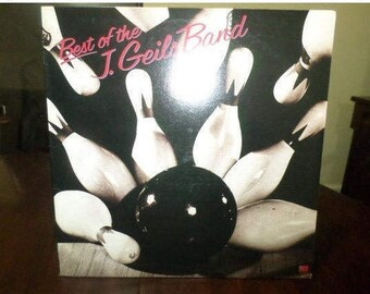 Vintage 1979 Vinyl LP Record Best of the J. Geils Band Near Mint Condition 6417