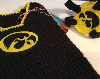 Crochet Baby Wrestler Outfit/Photo Prop