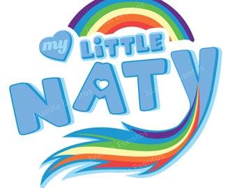 My Little Pony logo Rainbow Dash-Custom PNG 300dpi