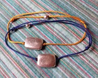 925 sterling silver Pebble bracelet