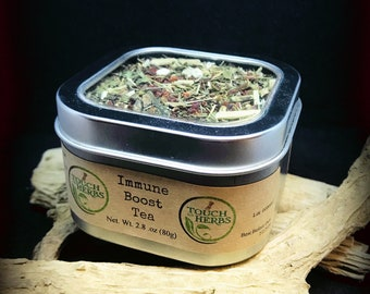 Immune Boost Tea - Echinacea Leaf and Root Tea