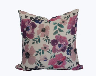 """SALE Pretty floral pillow cover """"Mary"""""""