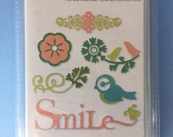 Lovely Floral Cricut cartridge--NEW!!