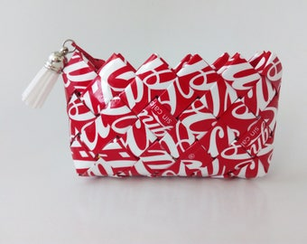 Coca-Cola Label Recycled Purse