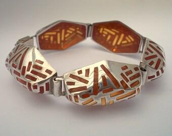 Go  Tech. Bracelet. Silver Art.