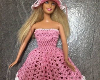 Barbie hand crocheted doll clothes