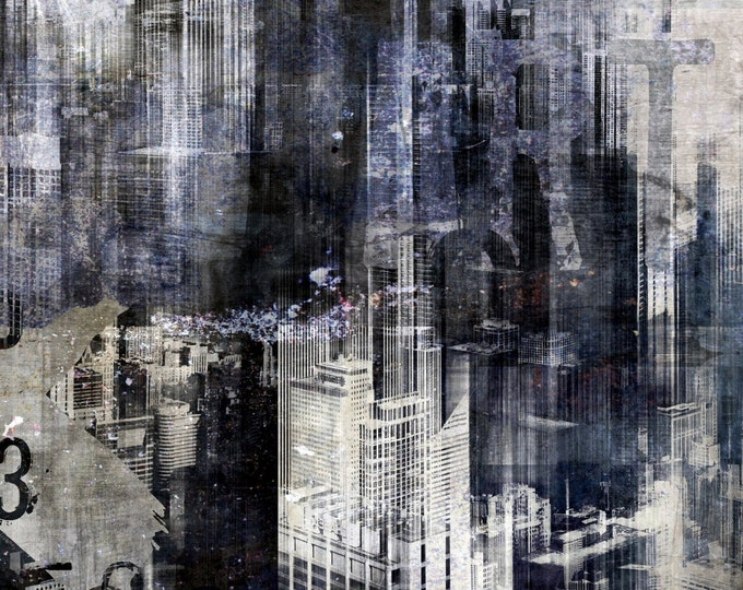 CHICAGO ART I A by Sven Pfrommer - Artwork is ready to hang
