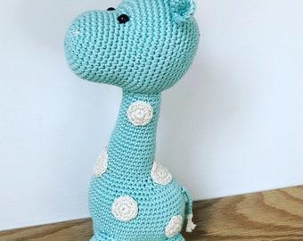 Crochet Gustov Giraffe - Handmade to order