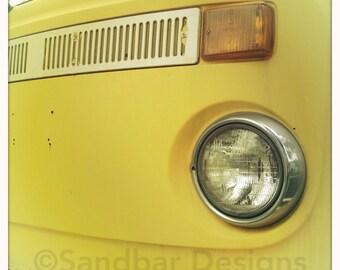 4 x 4 photo card-Limoncello VW bus