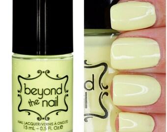 Booming Banana Nail Polish - Soft Neon UV Reactive