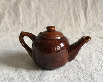 Vintage Miniature Ceramic Teapot