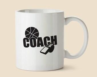 Basketball Mug - Basketball Coach Mug