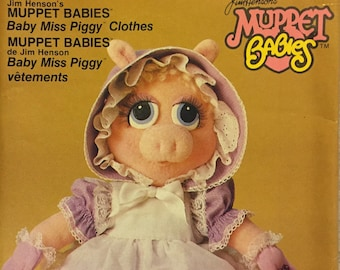 Baby Miss Piggy Muppet Babies Vogue 9179 Uncut  Complete Clothes for Baby Miss Piggy doll