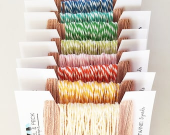 Baker's Twine Bundles - 50 yards (bundles of 5 yards) #SALE