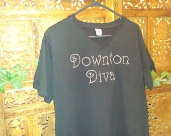 Rhinestone T-shirt, Downton Abbey