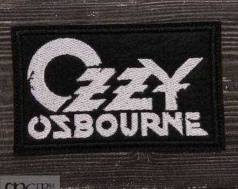 Patch Ozzy Osbourne Black Sabbath Heavy metal band.