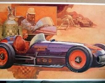 1954 Kurtis Racer Race Car Mad Russian Bill Vukovich