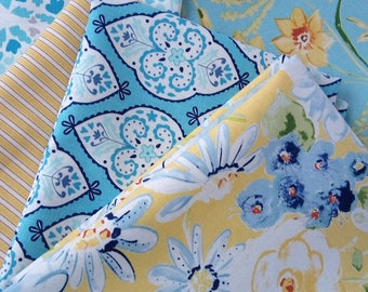 SALE SUNSHINE Dena Designs FreeSpirit Fabric Home Decor Fabrics   8  Half Yards Bundle ~
