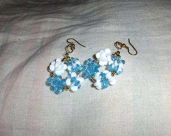 Snowflake Snowblocks Earrings